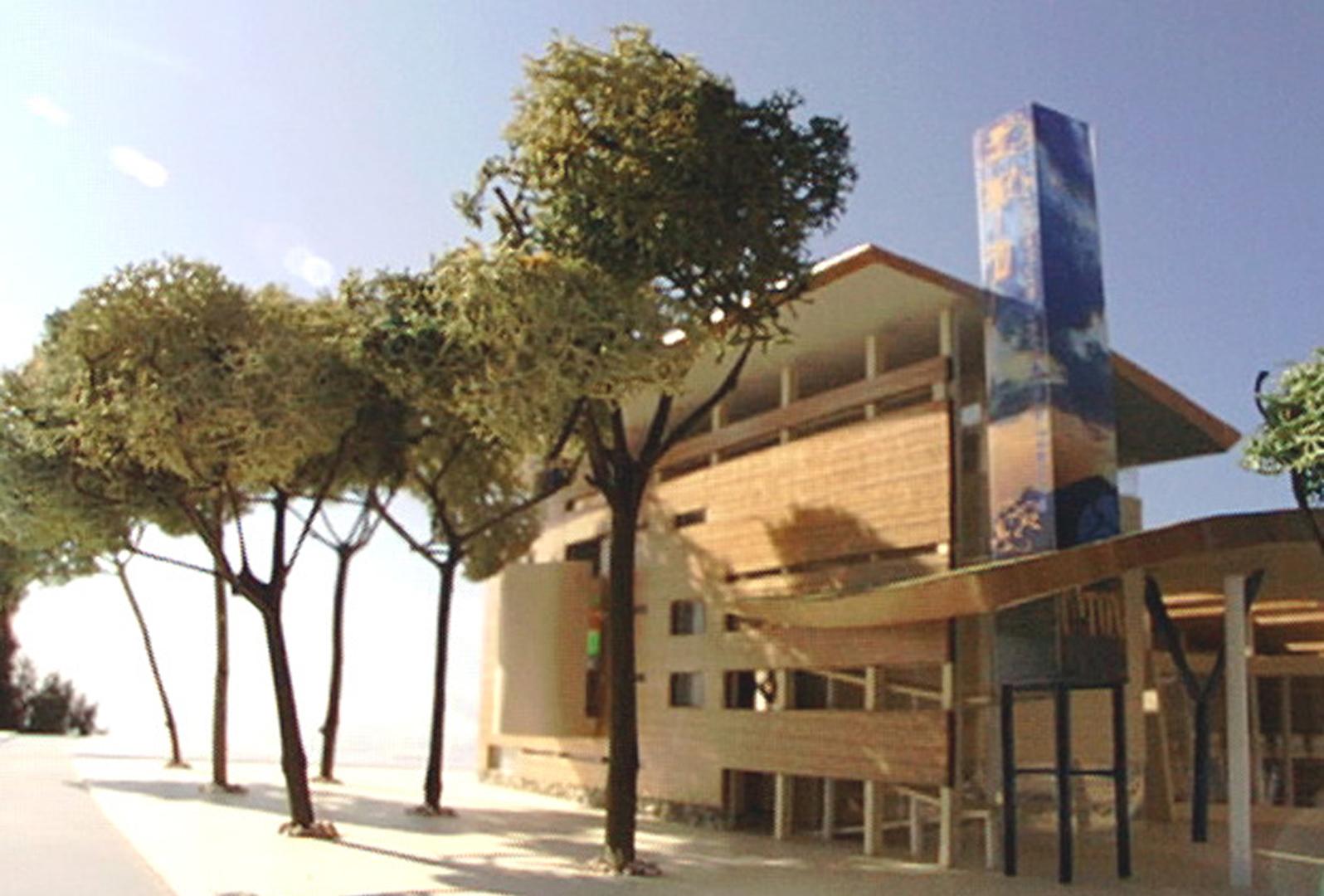 Architettura spettacolo natura atelier ga for Architettura natura