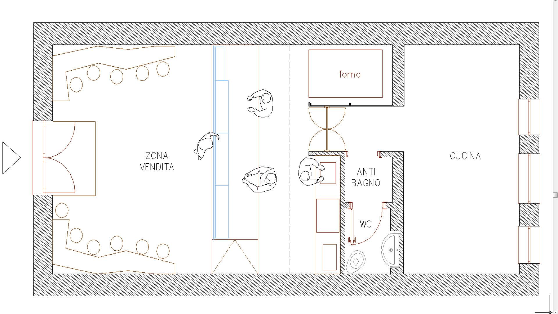 Pianta architettura definizione idea creativa della casa for Layout della planimetria della cucina