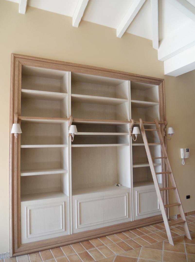 Libreria Quadro con scala - Atelier GA Architettura e Design ...